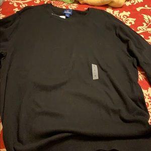 Men's light weight long sleeve pullover sweater